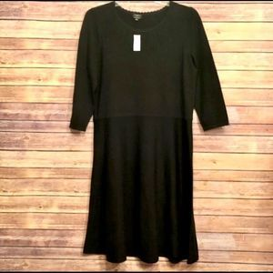 Talbots | Sweater Dress | Black | Size 1X